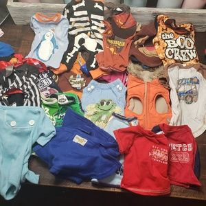 Small Doggy Clothes Lot